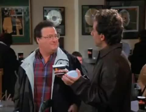 Watch and share Jerry Seinfeld GIFs and Wayne Knight GIFs on Gfycat