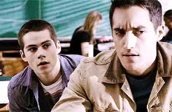 Watch dylan o'brien GIF on Gfycat. Discover more danny, dylan o'brien, dylan o'brien gifs, stiles, stiles stilinski, stiles x danny, teen wolf, tw GIFs on Gfycat