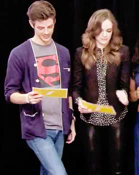 Watch and share Danielle Panabaker GIFs and Snowbarry Week GIFs on Gfycat