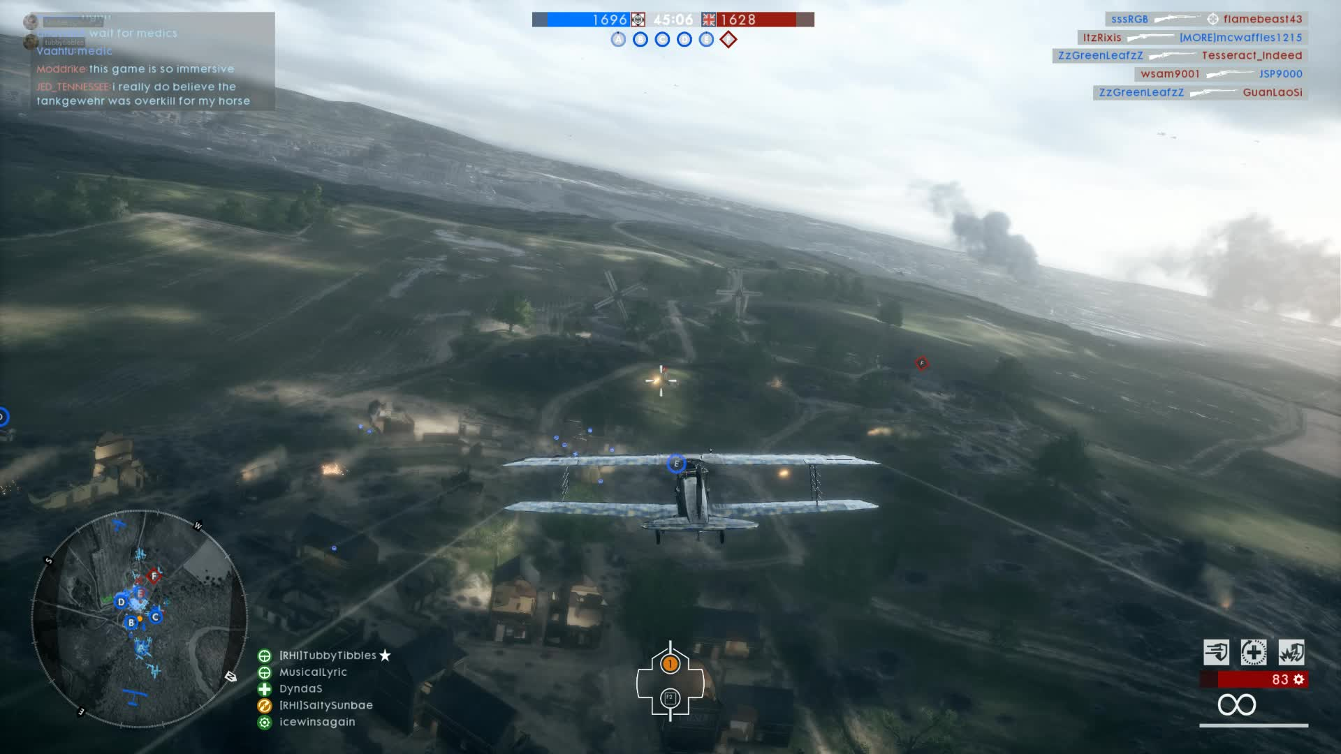 battlefield one, bf1 planes are busted GIFs