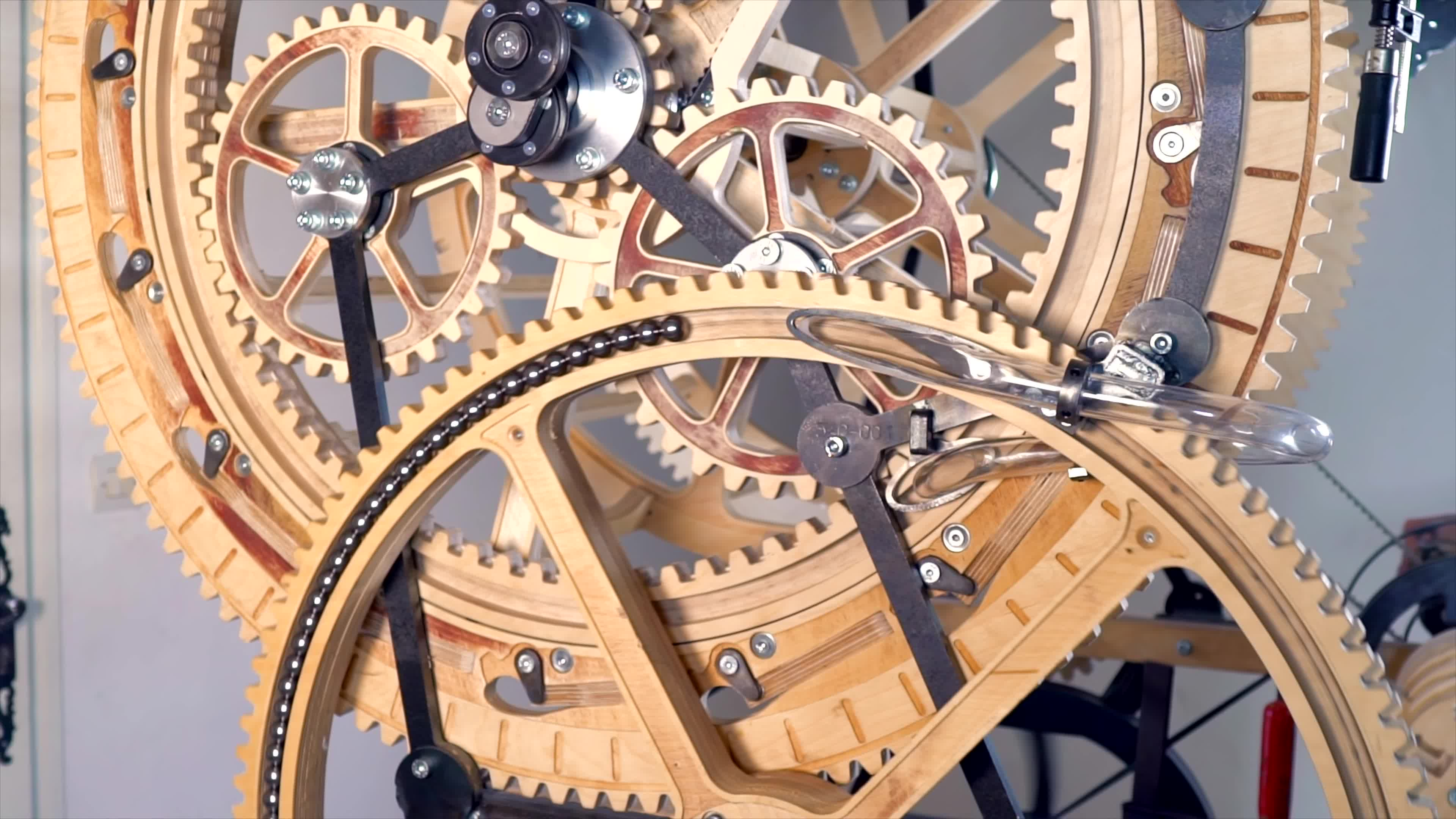 Marble Machine, Martin molin, diy, fusion 360, making, marble machine x, marble run, music instrument, wintergatan, woodworking, Magnet Polarity Switch - Marble Machine X #60 GIFs