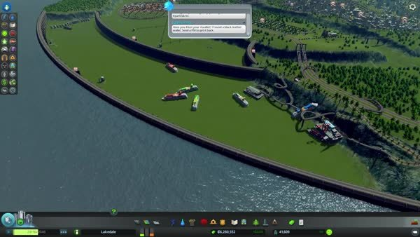 CitiesSkylines, paradoxplaza, Boats don't really care if you drain their water (reddit) GIFs