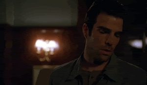 Zachary Quinto, is that so, really, yeah okay, really? GIFs