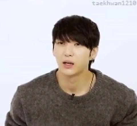 Watch and share Ask In A Box GIFs and Taekwoon GIFs on Gfycat