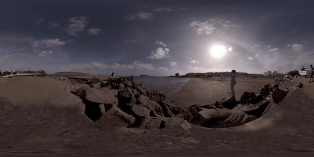 Watch and share African Beach - 360 Cinemagraph, VR Cinemagraph - Praia, Cabo Verde - Pandorama360 @ Youtube.com GIFs on Gfycat