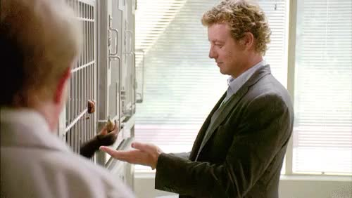 Watch and share The Mentalist GIFs and Patrick Jane GIFs on Gfycat