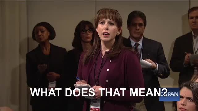 Watch and share Vanessa Bayer GIFs and Confused GIFs by Media Paradise 📺 on Gfycat