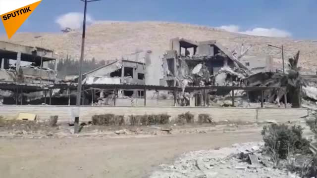 Watch Syria: Center for Scientific Research in Barzeh After Airstrikes GIF on Gfycat. Discover more All Tags, Sputnik, airstrike, airstrikes, barzeh, france, jamraya, news, politics, syria, uk, usa GIFs on Gfycat
