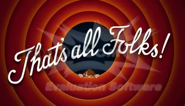 Watch That's All Folks Animated GIF on Gfycat. Discover more related GIFs on Gfycat