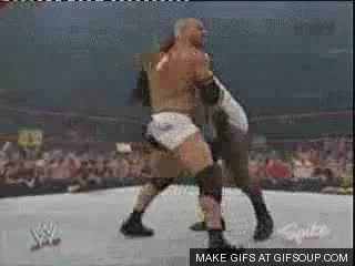 Watch and share Goldberg Slams Henry GIFs on Gfycat