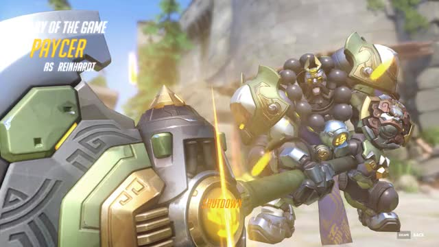 Watch and share Overwatch 2017-04-01 GIFs by Paycer on Gfycat