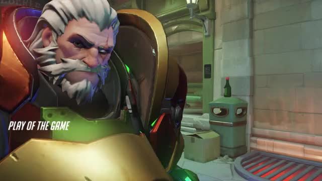 Watch and share Overwatch GIFs and Reinhardt GIFs by Darkzilla on Gfycat