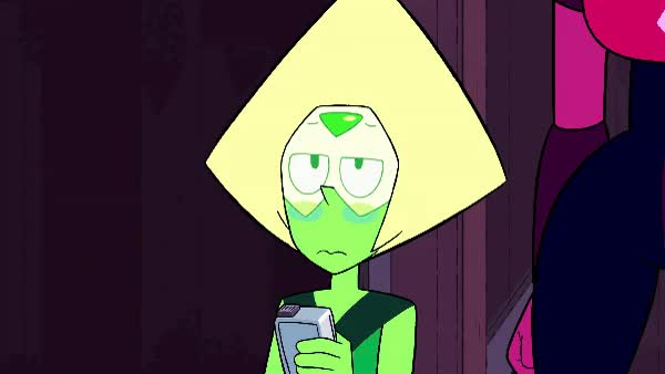 Peridot thumbs up (gif) : stevenuniverse GIFs