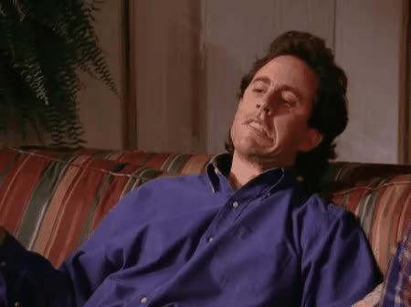 disappointed, jerry seinfeld, seinfeld, shame, Thats A Shame Seinfeld GIFs