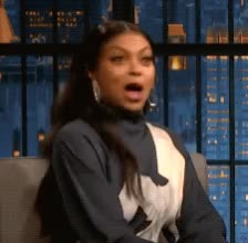 Watch and share Jimmy Kimmel Live GIFs and Taraji P Henson GIFs by Reactions on Gfycat