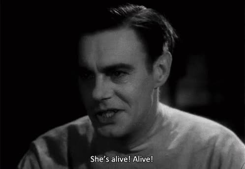 Watch and share She's Alive! GIF GIFs on Gfycat