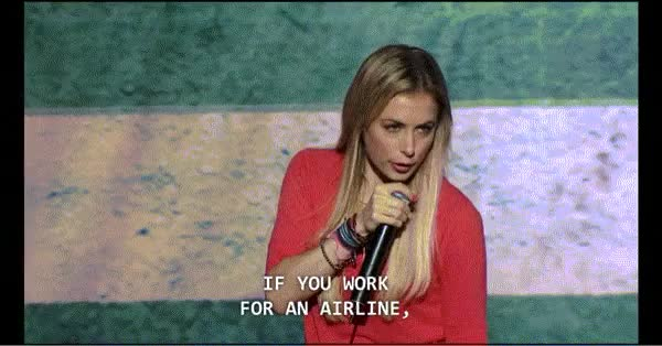Watch and share Iliza Shlesinger GIFs and Stand Up Comedy GIFs on Gfycat