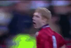 Watch and share Manchester United GIFs and Paul Scholes GIFs on Gfycat