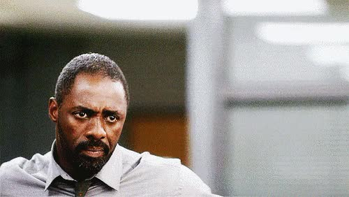 Watch and share Idris Elba GIFs and Dramatic GIFs by Reactions on Gfycat