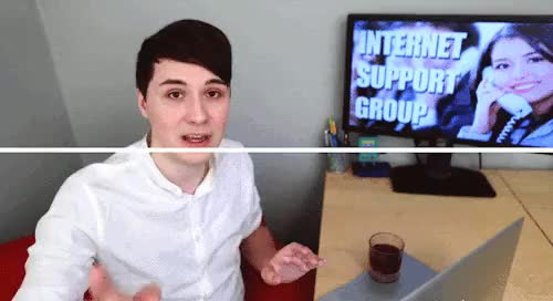 "Watch ""told"" GIF on Gfycat. Discover more Daniel Howell, amzingphil, dan, dan howell, danisnotonfire, gif, isg4, phan, phan gif, phandom, phil lester, photography GIFs on Gfycat"