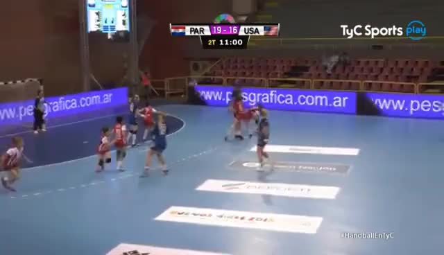 USA vs Paraguay Bryana Newbern save from 6 meter GIF | Find