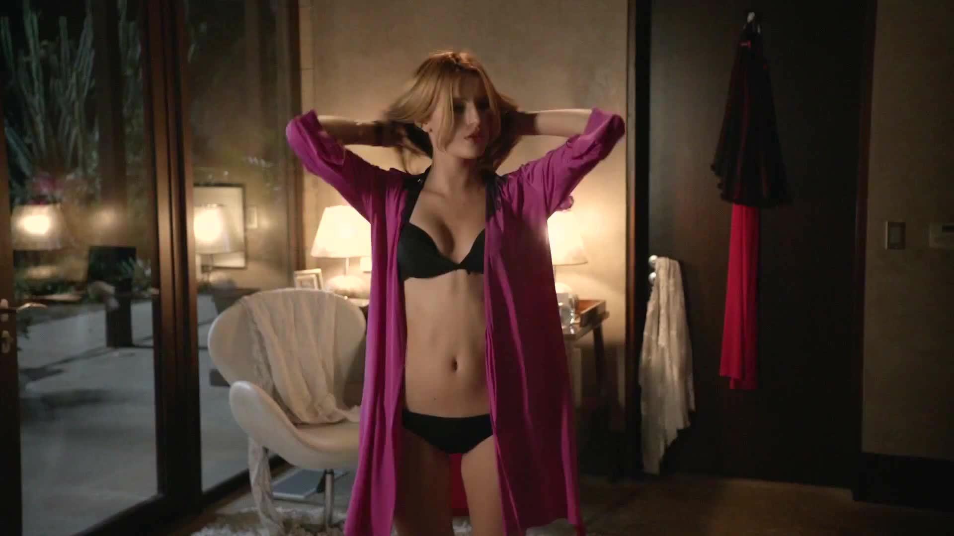 Bella thorne bikini dancing with hot blonde friend 3