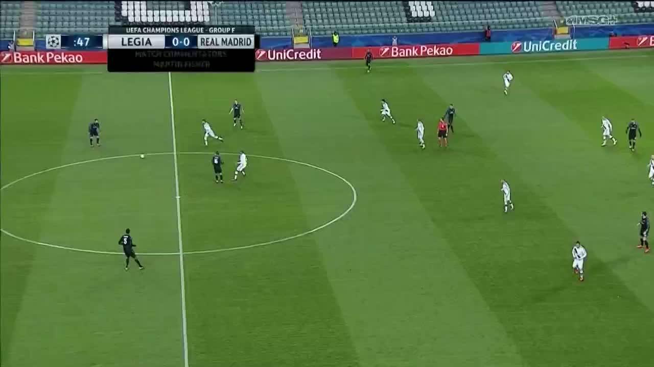 madtekkers, Bale volley vs Legia Warsaw 02/11/16 GIFs