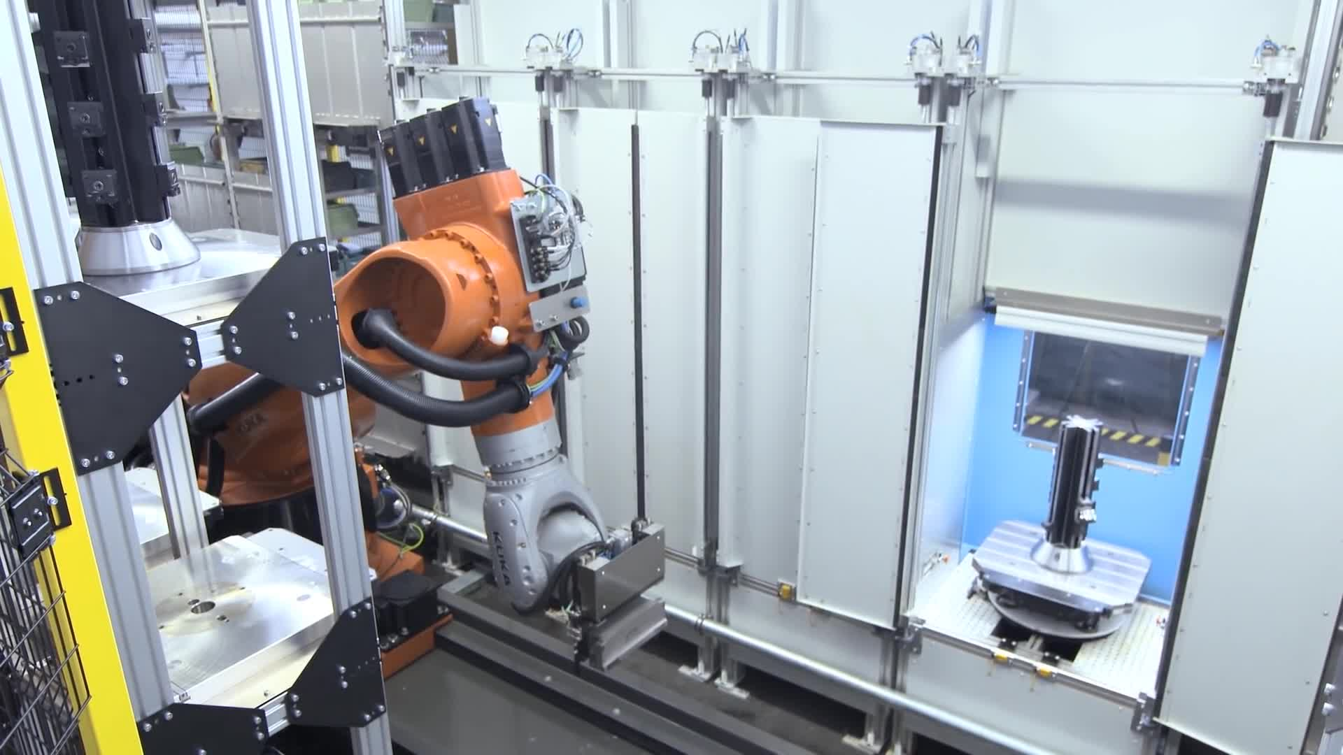 Automation, FORTEC, Industry, KUKA, MERZ, Machining, Manufacturing, robot, robotics, wbt automation, MERZ Increases Machining Productivity with KUKA KR FORTEC Robot GIFs