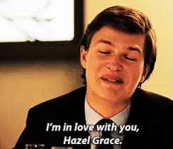Watch mine i mean I'm in love with you tfios GIF on Gfycat. Discover more ansel elgort GIFs on Gfycat