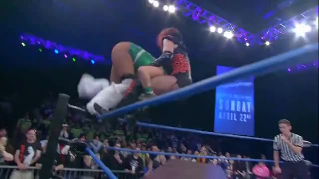Watch Rosemary vs Taya Valkyrie: DEMON'S DANCE: Match in 4 | IMPACT! Highlights Apr. 12 2018 GIF on Gfycat. Discover more PPV, Redemption, Rosemary, TNA, hardcore, knockouts GIFs on Gfycat