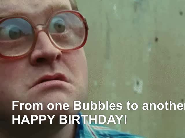Watch and share Bubbles Bday GIFs on Gfycat