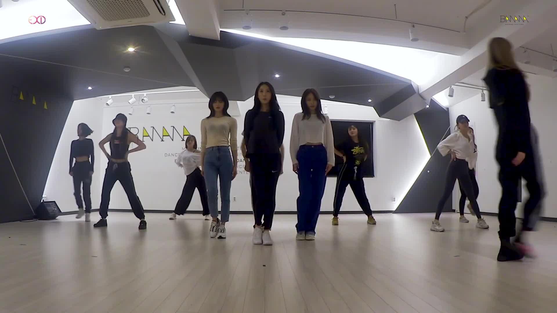 MV comeback chưa kịp nguội, EXID đã chiêu đãi fan bản dance practice của MEYOU ảnh 1