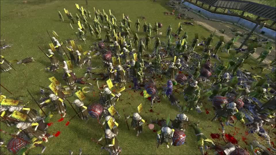totalwar, Tug of War battle 16 loss final death GIFs