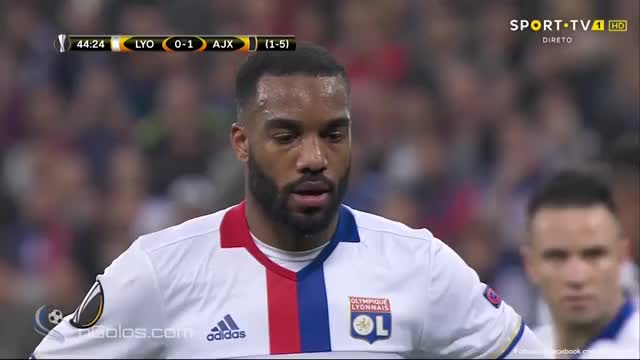 Watch and share Lyon 1-1 Ajax - Lacazette 45' (Penalty) GIFs on Gfycat