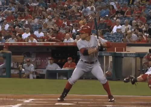 Watch Joey Votto | Full Swing GIF by @currybaseball on Gfycat. Discover more Baseball, Cincinnati Reds, Joey Votto GIFs on Gfycat