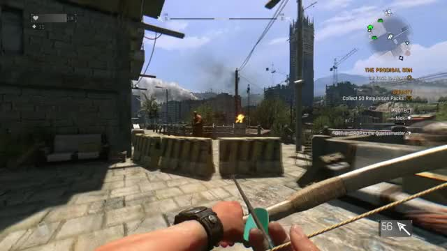 Watch flip GIF by Alexander452 (@alexander452) on Gfycat. Discover more Bow, Dying Light, Flip, Kill, Zombie GIFs on Gfycat