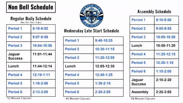 Watch and share CVHS Non Bell Schedule - Final 6-21-2018 GIFs on Gfycat