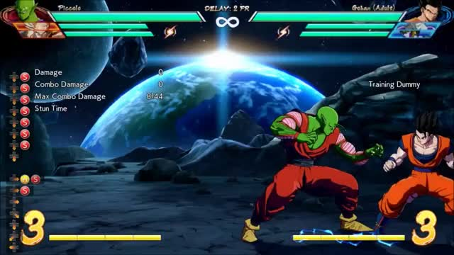 Watch DBFZ Piccolo - Corner 5M 2M 4bar combo (7121 dmg) GIF by @amex_svk on Gfycat. Discover more related GIFs on Gfycat