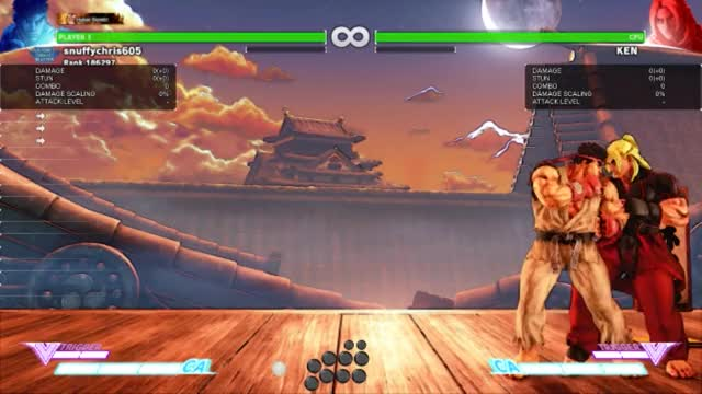 Watch and share SFV: MysteriousMod: Ryu Combo #1 GIFs by snuffychris605 on Gfycat