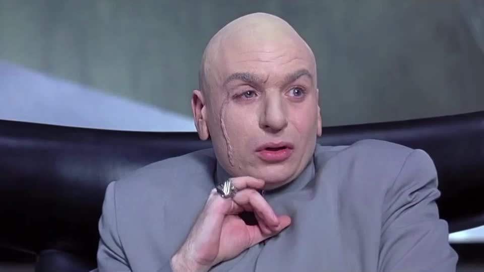 Surprised, surprise, Dr Evil GIFs