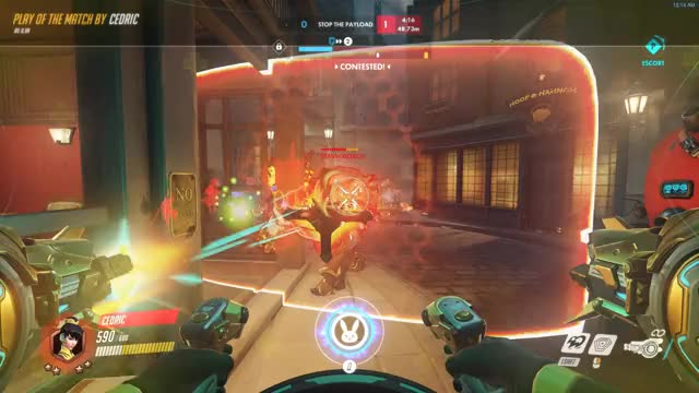 Watch and share Sextuple Kill? GIFs and Overwatch GIFs on Gfycat