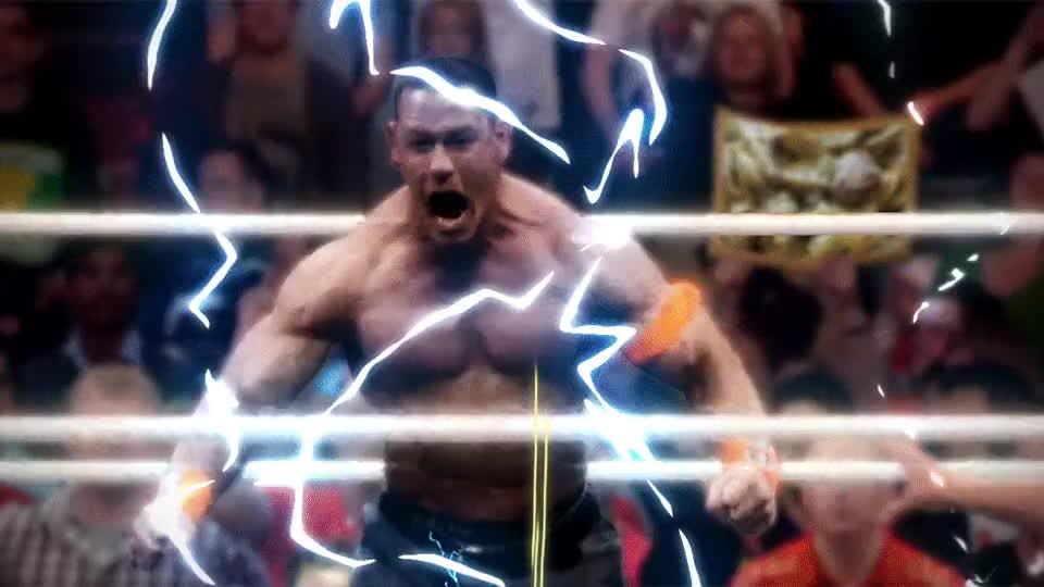 johncena, supersaiyangifs, wrestling, John Cena Super Saiyan GIFs