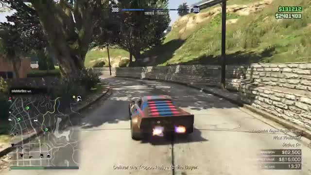 Grand Theft Auto V - The Bogdan Problem Glitched Payout GIF by