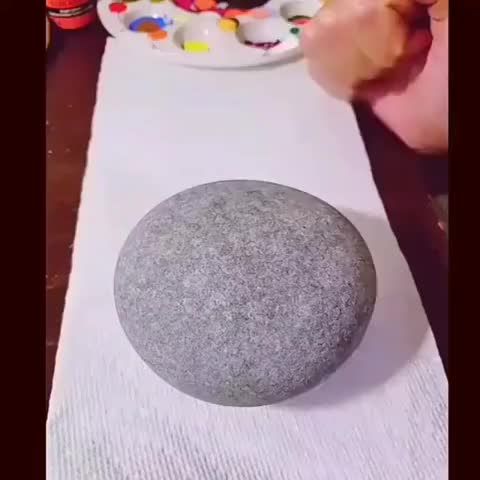 Watch and share Dot Art Mandala On Stone GIFs by RazOrbb on Gfycat