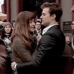 Watch this dakota johnson GIF on Gfycat. Discover more bts, dakota johnson, damie, djedit, fifty shades of grey, fsog, fsogedit, gif, jamie dornan, on set GIFs on Gfycat