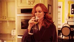 Watch and share Marcia Cross GIFs and Wine GIFs on Gfycat