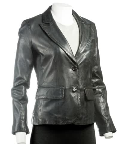 Watch and share Ladies Leather Blazers GIFs by The Leather Shop  on Gfycat