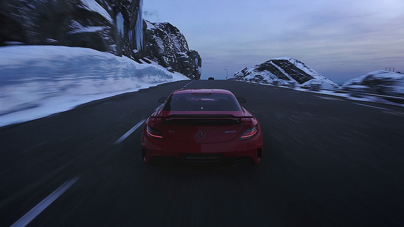 PS4, gaming, ps4gifs, Driveclub Snow GIFs
