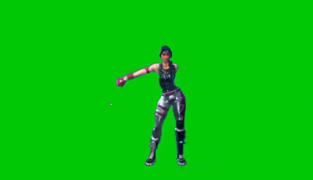 Watch and share Fortnite Floss Green Screen GIFs on Gfycat
