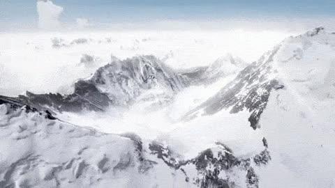 mountain, mountains, nature,  GIFs